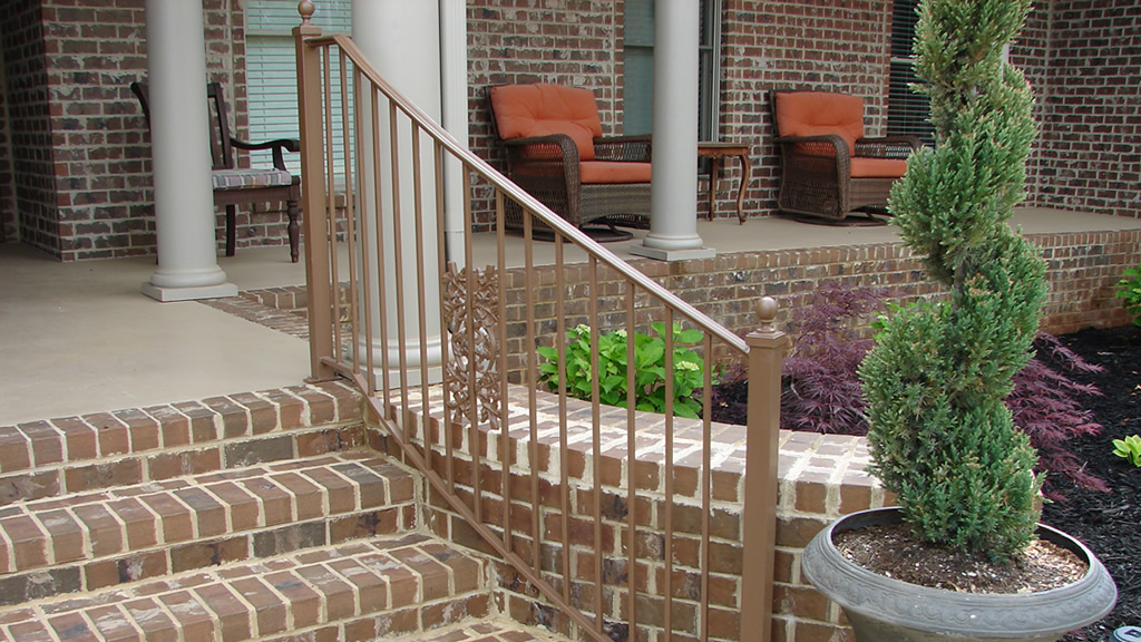 Etheredge Awning and Iron Works – Decatur Alabama – Iron Handrail