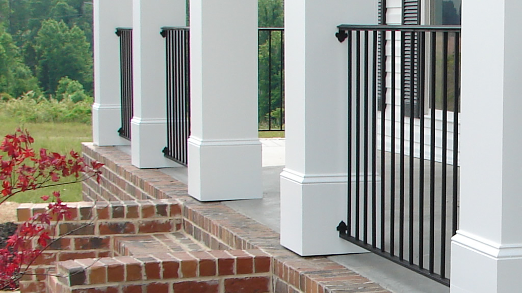Etheredge Awning and Iron Works – Decatur Alabama – Iron Handrail2