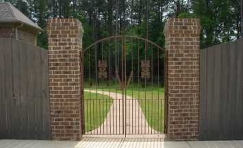 Iron gates - etheredge awning and ironworks - decatur al