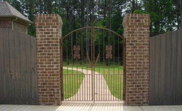 Iron gates - etheredge awning and ironworks - decatur al