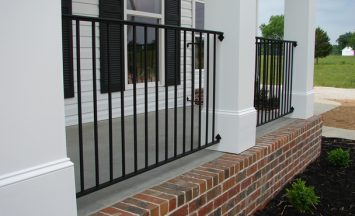 iron railing - etheredge awning and ironworks - decatur al